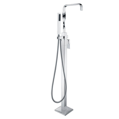 ANZZI Yosemite Series FS-AZ0050 2-Handle Claw Foot Tub Faucet with Hand Shower