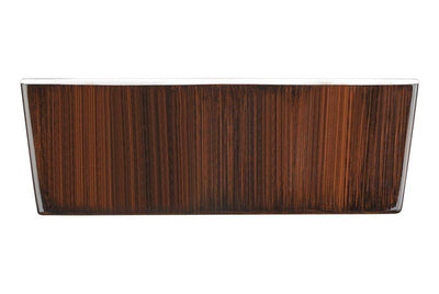 ANZZI Rook Series FT-AZ205 5.69 ft. Freestanding Bathtub in Mahogany