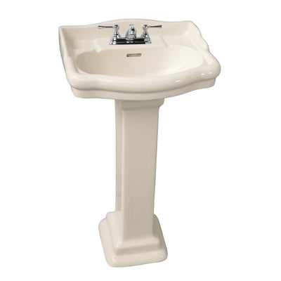 Barclay Stanford 460 Pedestal Lavatory Bathroom Sink 6 inch faucet