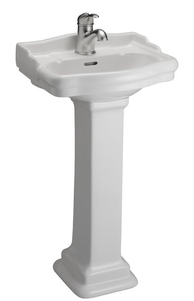 Barclay Stanford 460 Pedestal Lavatory Bathroom Sink single hole faucet