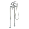Giagni Victorian Floor Mount Tub Faucet - Affordable Cheap Freestanding Clawfoot Bathtubs Tub