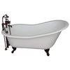 Barclay Icarus 67″ Cast Iron Slipper Tub Kit