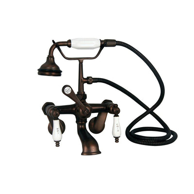 Barclay TKCTRN54-ORB1 Antonio 55″ Cast Iron Roll Top Premium Tub Kit with Oil Rubbed Bronze Accessories