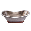 Barclay Galileo COTDSN71B-MN Double Slipper Copper Freestanding Tub