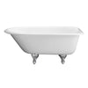 "Barclay Abbey 48"" Cast Iron Roll Top Tub"
