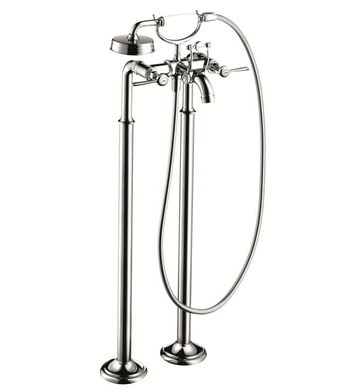 Axor Montreal Freestanding Tub Filler With Lever Handle Luxury