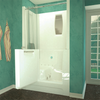 MediTub 2747 Series 27 x 47 Acrylic Fiberglass Walk-In Bathtub
