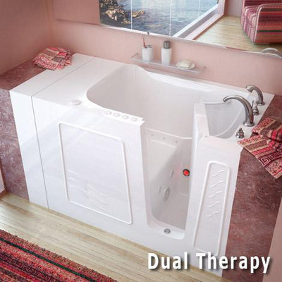 MediTub 3053 Series 30 x 53 Gelcoat Fiberglass Walk-In Bathtub