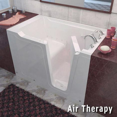 MediTub 3660 Series 36 x 60 Gelcoat Fiberglass Walk-In Bathtub ...