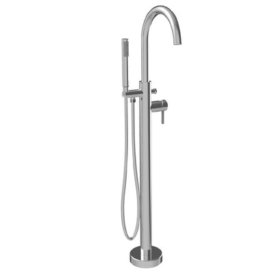 "A & E Bath and Shower Axel 68"" Premium Oval Freestanding Bathtub Faucet"