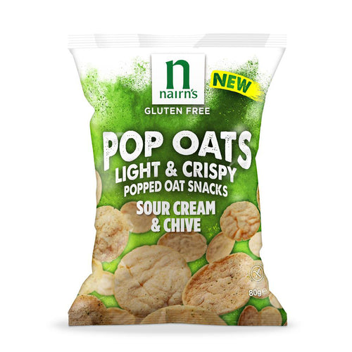 Gluten Free Sour Cream & Chive Pop Oats Sharing Bag 80g