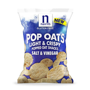 Gluten Free Salt & Vinegar Pop Oats Sharing Bag 80g