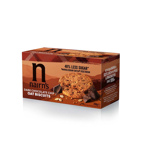 Dark Chocolate Chip Biscuits, 200g