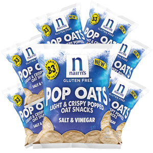 Gluten Free Salt & Vinegar Pop Oats 20g