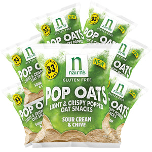 Gluten Free Sour Cream & Chive Pop Oats 20g