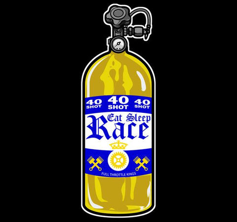 40 Shot Sticker Corona - Guld/Blå | 40 Shot Sticker Corona - Gold/Navy