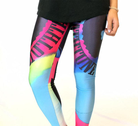 Deathtune Tie-Dye - Leggings