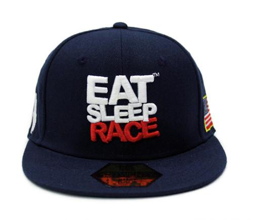 Team Snapback USA - Navy/Röd