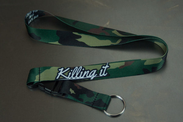 Killing It Camo - Nyckelband