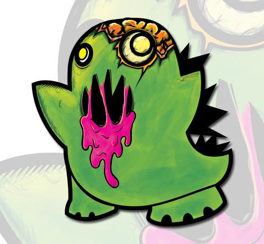 ZombieZILLA Sticker