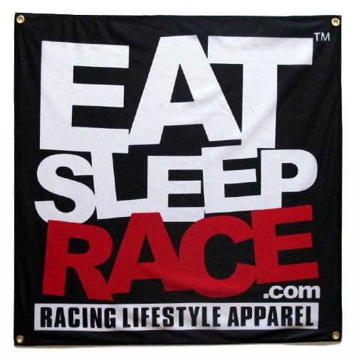 Eat Sleep Race Banner