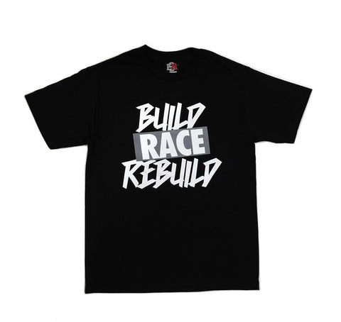 Build Rebuild 2 T-Shirt - Svart/Grå | Build Rebuild 2 T-Shirt - Black/Grey