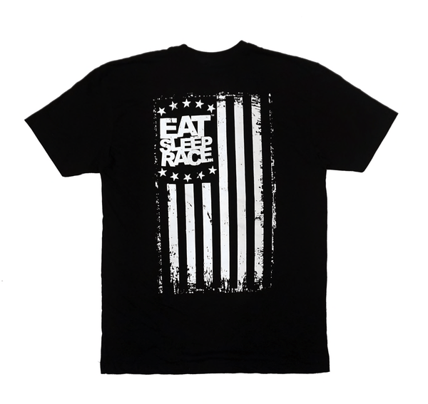 ESR Flag Lightweight T-Shirt | Svart