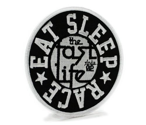 Circle Fast Life - Iron On Patch