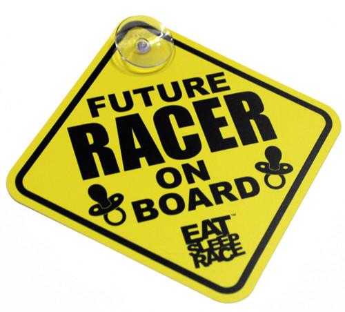 Future Racer on Board - Skylt