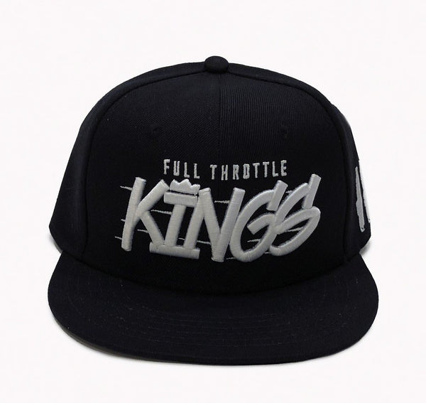 Full Throttle Kings 2 Snapback | Svart/Vit