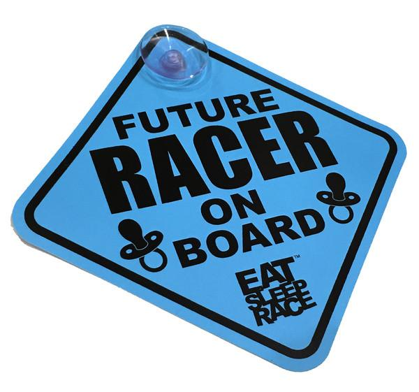 Future Racer on Board - Skylt - Blå