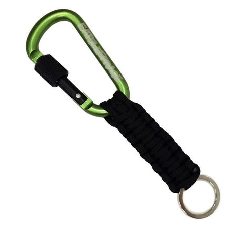ESR Locking Paracord Karbinhake - Grön | Locking Carabiner Paracord - Green