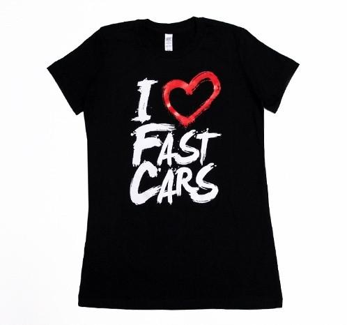 I Love Fast Cars (red/black)