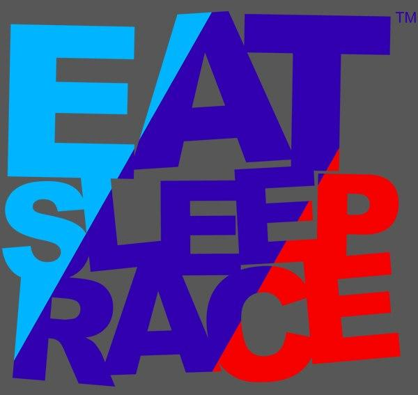 Eat Sleep Race - Euro Logo