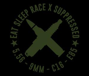 Suppressed Vinyl Sticker