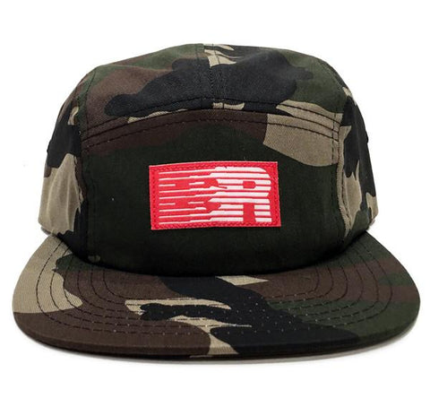 ESR 5-Panel Keps - Woodland Camo | ESR 5-Panel Cap - Woodland Camo