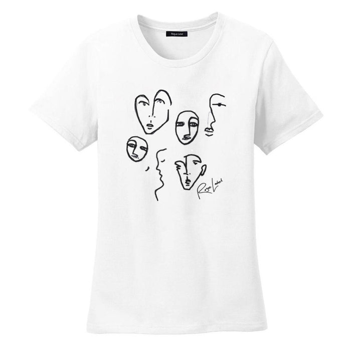Sustainable fashion t-shirt faces modemusthaves