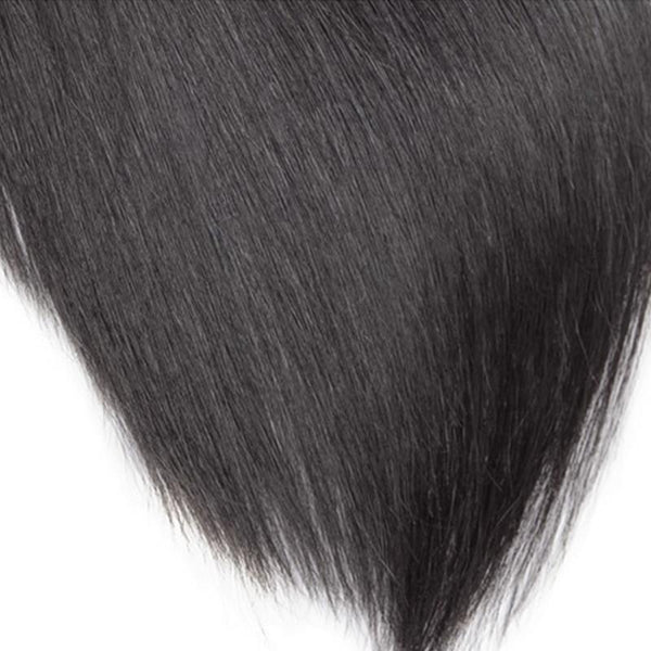 Grade 10A - 100% Virgin Human Hair [Unprocessed] Silky Straight - 1 Bundle