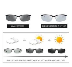 ALL-WEATHER MENS PHOTOCHROMIC SUNGLASSES