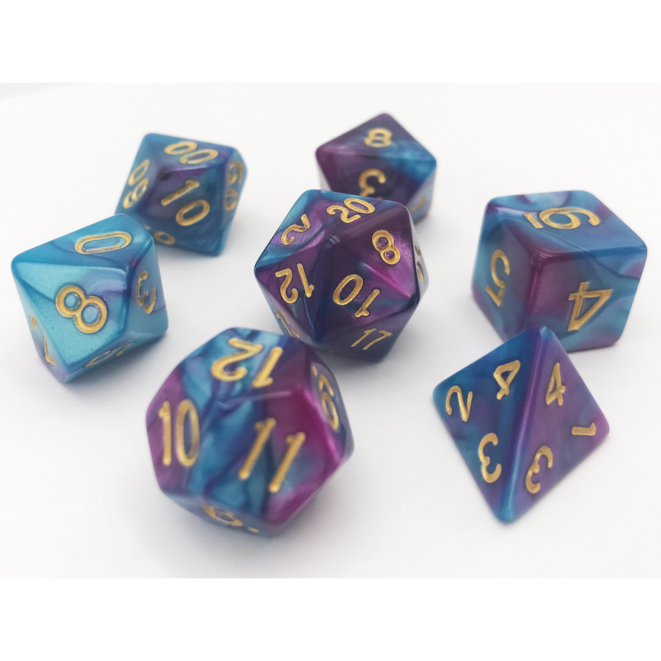 TIDAL SERENITY DICE BY HEDRONIX