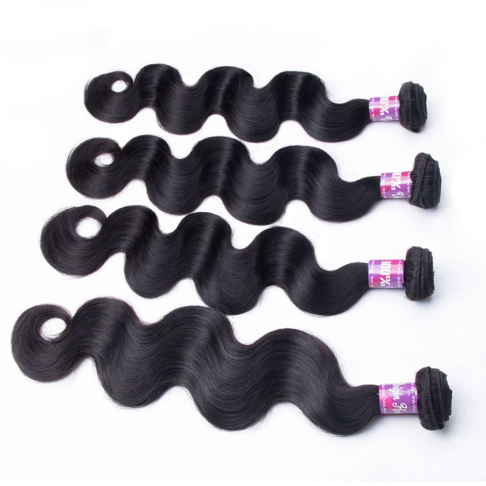 Brazilian Body Wave - 4 Bundles - Virgin Human Hair
