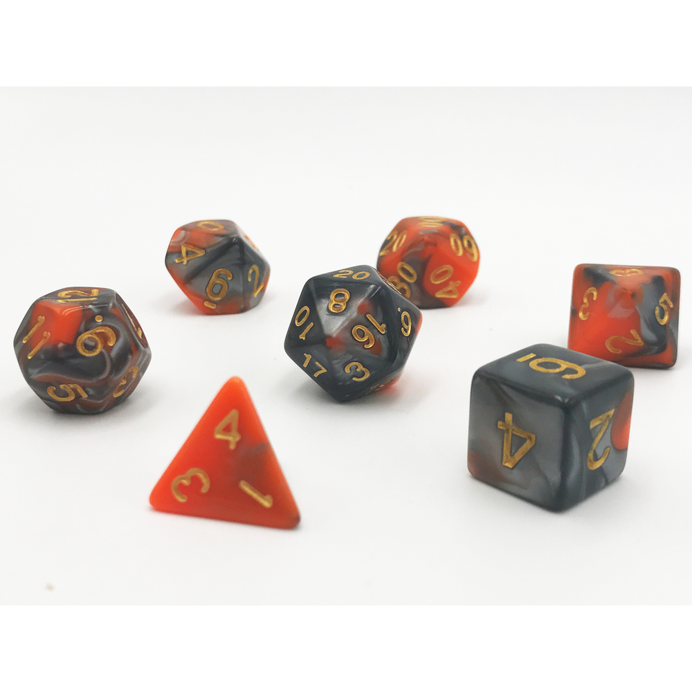 LAVA DICE BY HEDRONIX