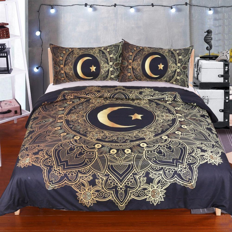 Moon Stars Beddings Set Limited Edition Sweet Offerz