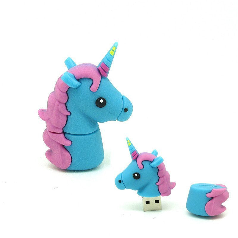 Cute Unicorn Flash Drive (USB 2.0)