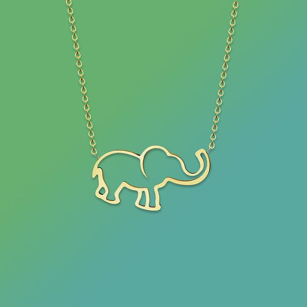 Save the Elephants Necklace