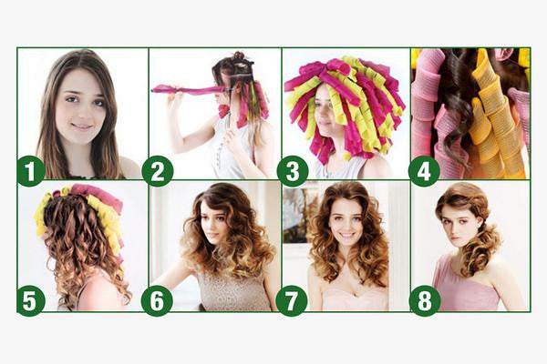 Easy To Use Hair Curlers [No Heat ]