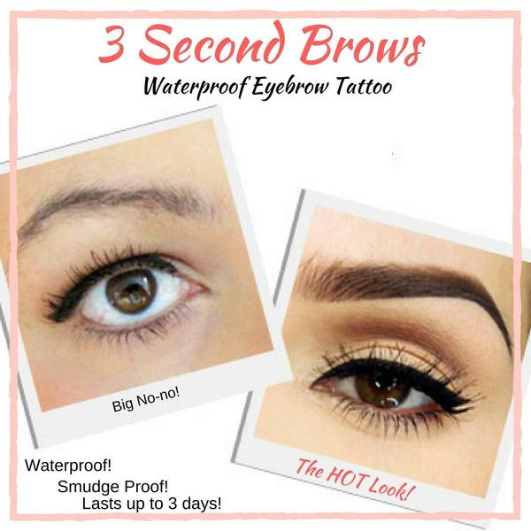 Temporary Eyebrow Tattoo - Waterproof Pen Makeup Natural