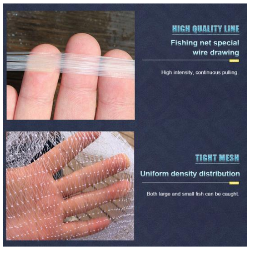 Magic Fishing Net for Best Fishing Results