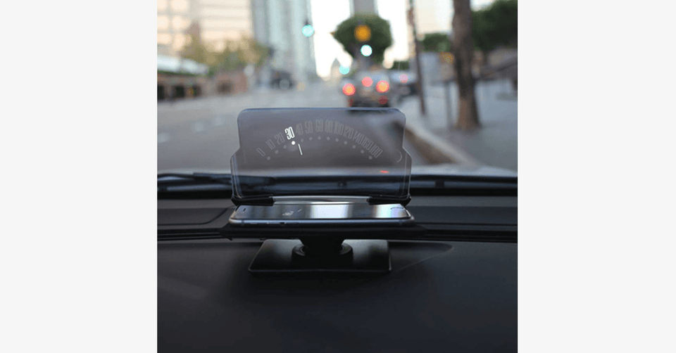 Smartphone Driver Heads Up Display