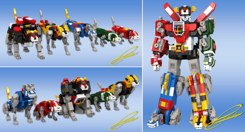 Voltron - 2321 Pieces
